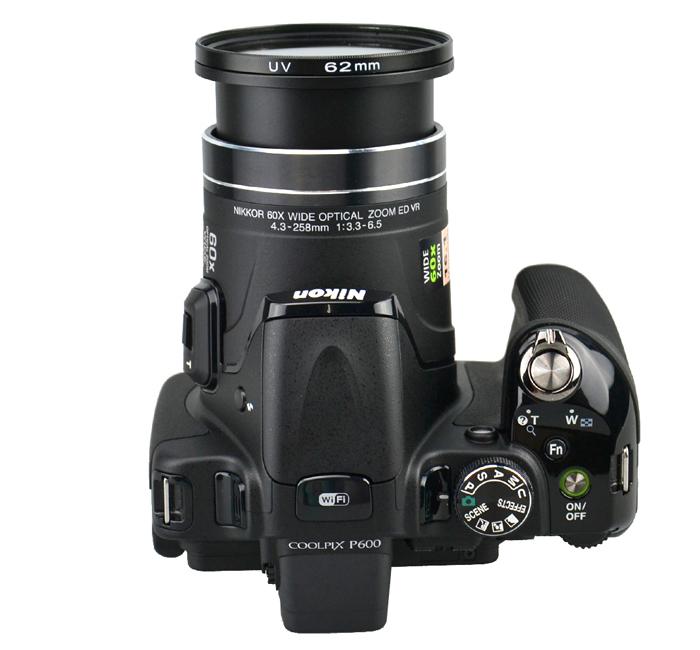 Kiwifotos redukce Canon SX210