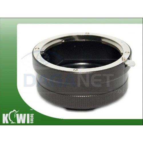 Kiwifotos redukce Canon EF na Sony E