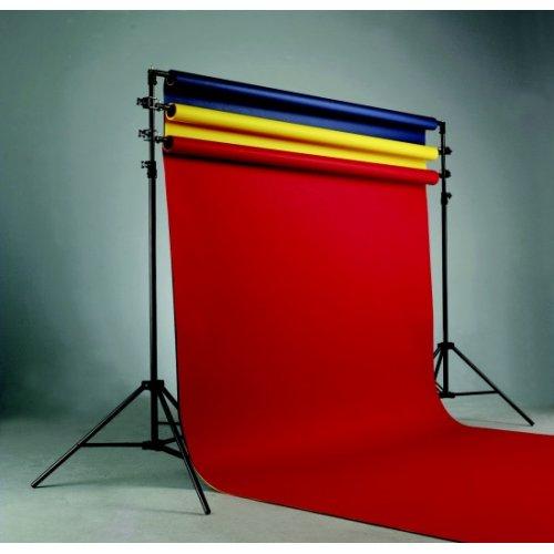 fotografické pozadí JYC 1,6 x 5 m - červená