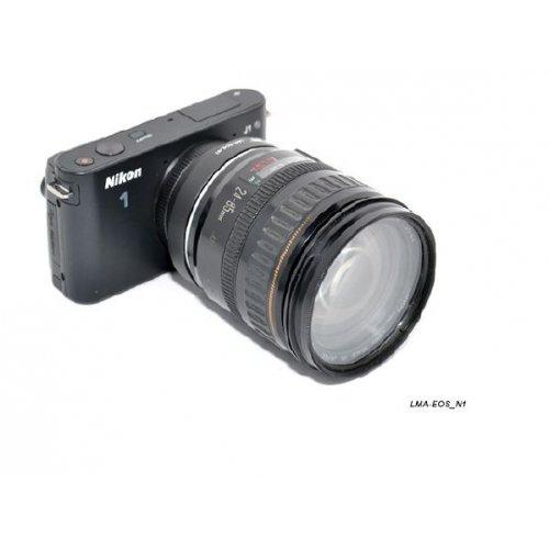 Kiwifotos redukce Canon EF na Nikon 1
