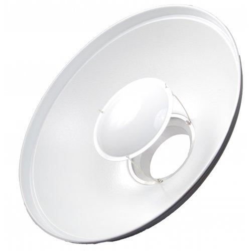 Beauty dish Quantuum 42cm bílý