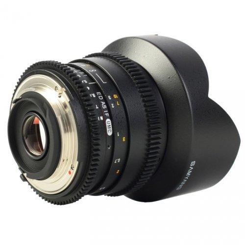 Samyang 14mm T3,1 Nikon AE VDSLR