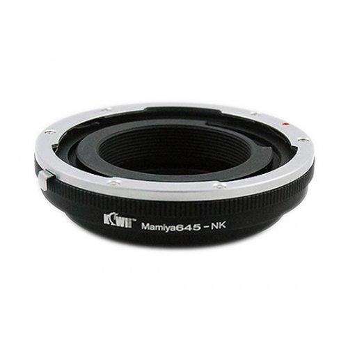 Kiwifotos redukce Mamiya 645 na Nikon