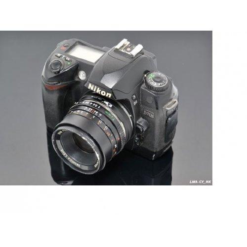 Kiwifotos redukce Yashica Contax objektiv na Nikon F