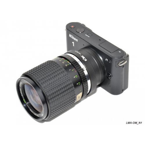 Kiwifotos redukce Olympus OM na Nikon 1