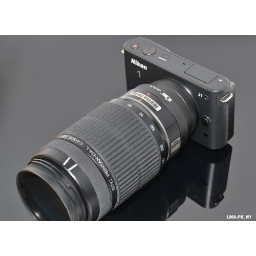 Kiwifotos redukce Pentax K na Nikon 1