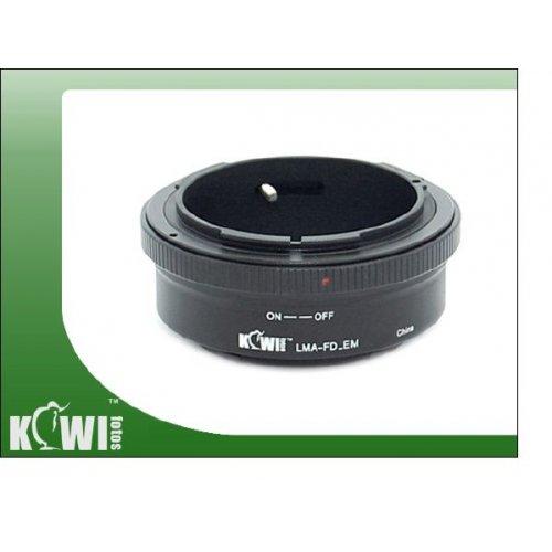 Kiwifotos redukce Canon FD na Sony E