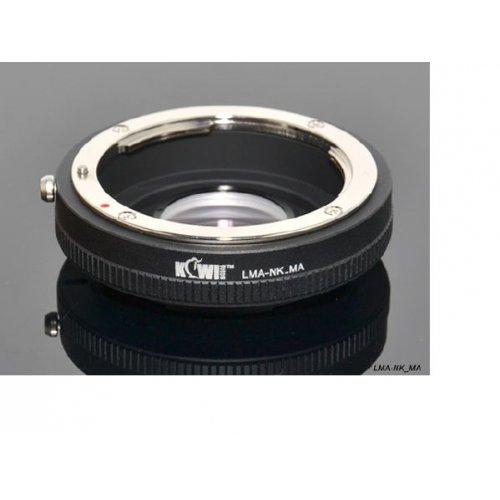 Kiwifotos redukce Nikon F na Sony Alpha
