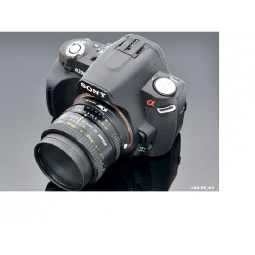 Kiwifotos redukce Nikon AF na Sony Alpha