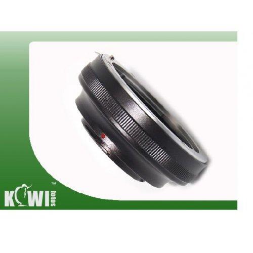 Kiwifotos redukce Canon EF na Micro 4/3