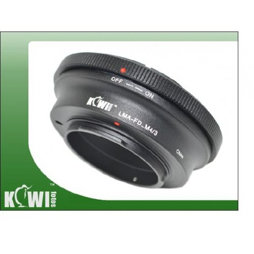Kiwifotos redukce Canon FD na Micro 4/3