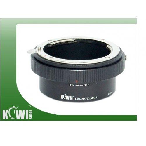 Kiwifotos redukce Nikon G na Micro 4/3