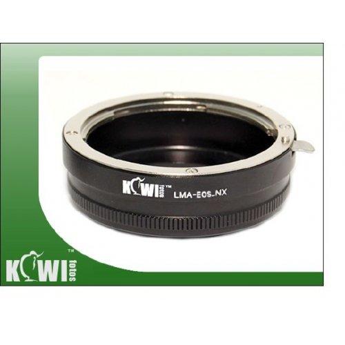 Kiwifotos redukce Canon EF na Samsung NX