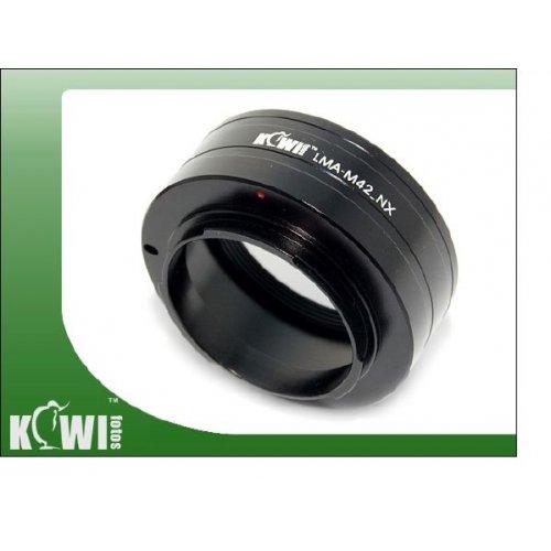 Kiwifotos redukce M42 na Samsung NX