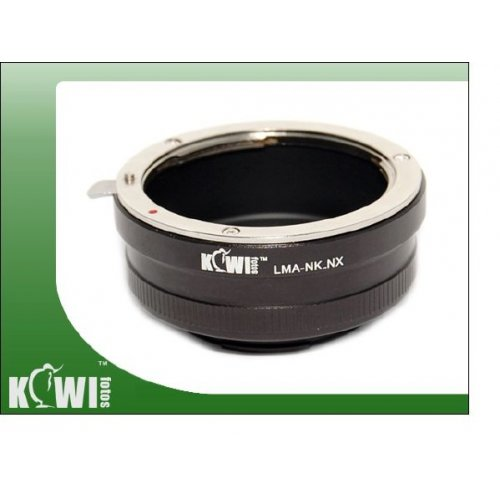 Kiwifotos redukce Nikon na Samsung NX