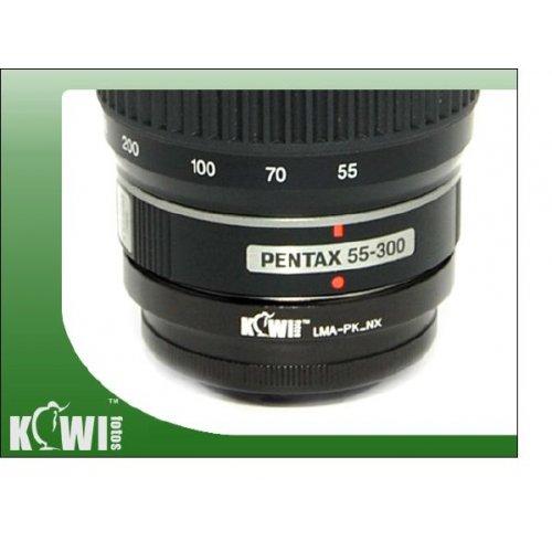 Kiwifotos redukce Pentax K na Samsung NX