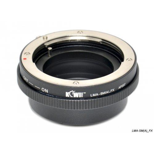 Kiwifotos redukce Sony Alpha A na Fujifilm X-Pro 1
