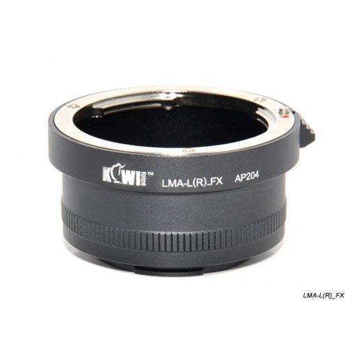Kiwifotos redukce Leica R na Fufilm X-Pro 1