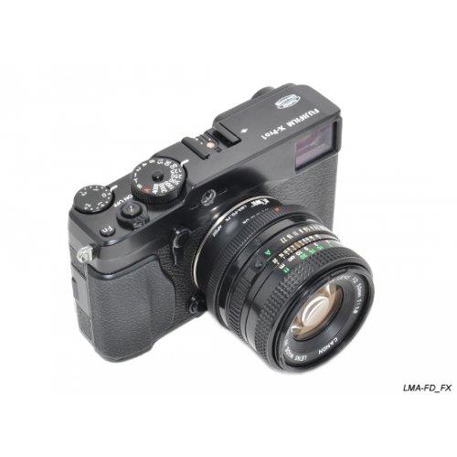 Kiwifotos redukce Canon FD na Fujifilm X-Pro 1