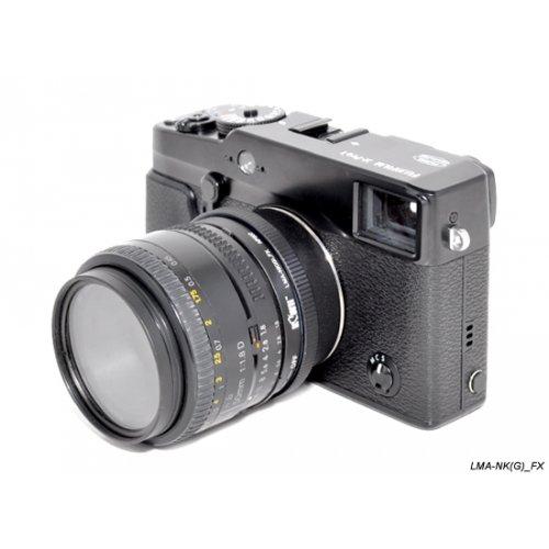 Kiwifotos redukce Nikon G na Fujifilm X-Pro 1