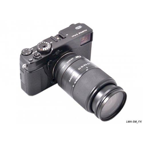 Kiwifotos redukce Sony A na Fujifilm X-Pro 1