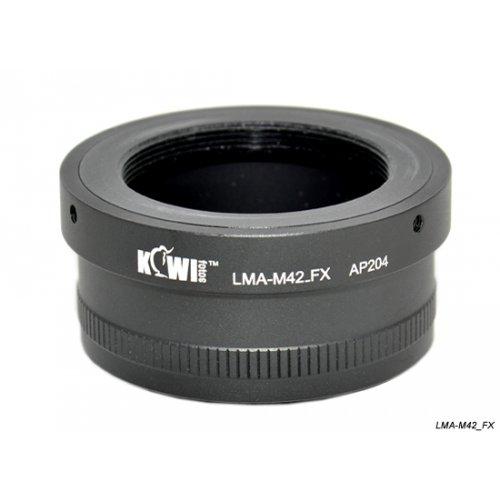 Kiwifotos redukce M42 na Fujifilm X-Pro 1