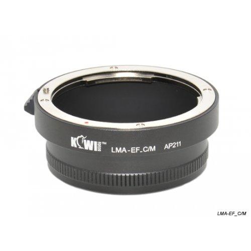 Kiwifotos redukce Canon EF na Canon EF-M