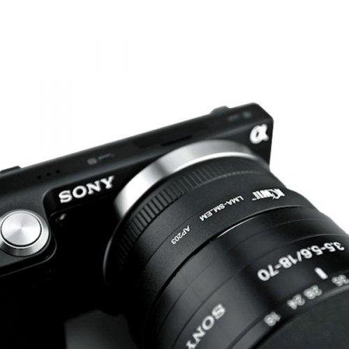 Sony A na Sony E