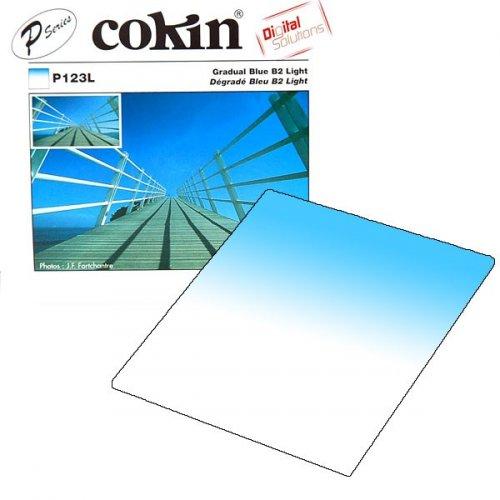 Cokin filtr P123L Gradual Blue B2 Light