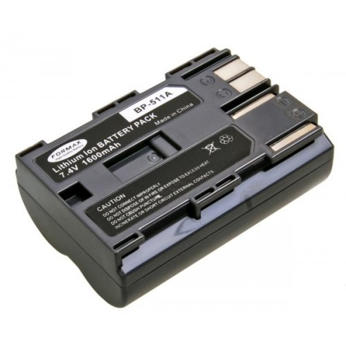 Formax akumulátor Canon BP-511 1600mAh