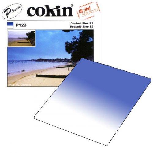 Cokin filtr P123S Gradual Blue B2 Soft