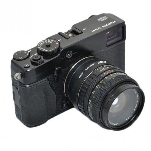 Kiwifotos redukce Fuji X Fujinon na Fujifilm X-Pro 1