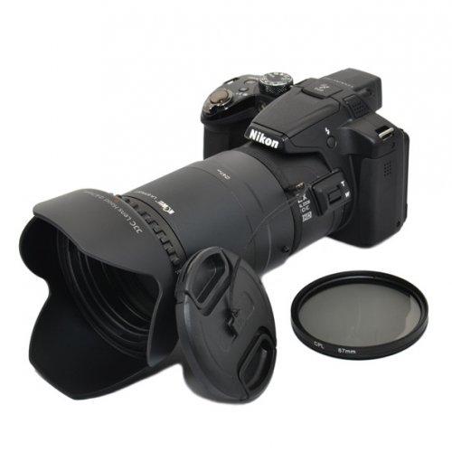 Kiwifotos redukce Nikon LA-67P520T Coolpix P510 P520 sada