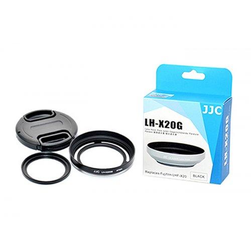 JJC sluneční clona Fuji X10 X20 kit LHF-X20