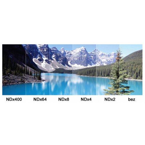 ND2 - ND400 šedý filtr Lensso