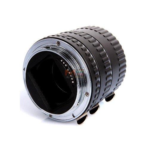 makro mezikroužky Meike pro Canon s přenosem clony