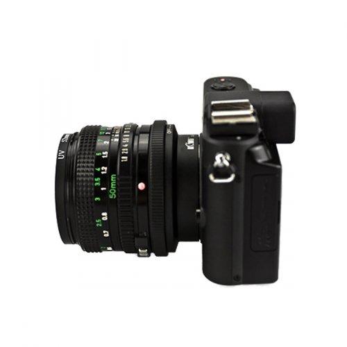 Kiwifotos redukce Canon FD na Nikon 1