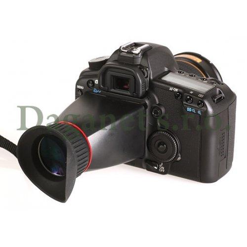 """LCD zvětšovací očnice MK-VF100 Meike pro DSLR 3"""" - RÁM"""