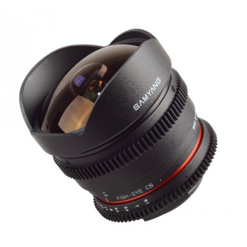 Samyang 8mm T3,8 Nikon AE VDSLR