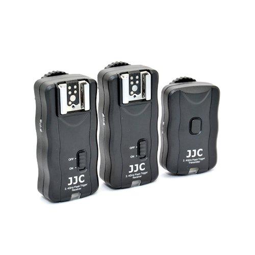 JJC radiový odpalovač set 2,4GHz 1+2