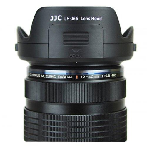 JJC sluneční clona pro Olympus LH-66
