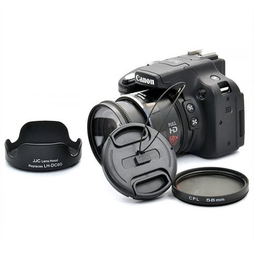 Kiwifotos redukce Canon SX520 HS SX50 HS kit