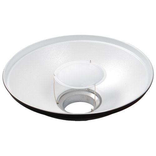 Beauty dish Quantuum 70cm bílý + voština 70cm