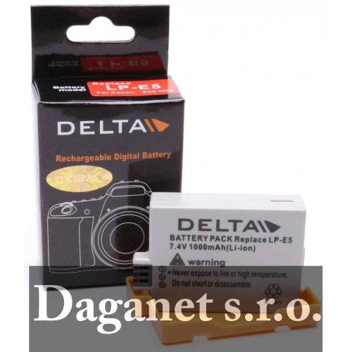 akumulátor Canon LP-E5 850mAh