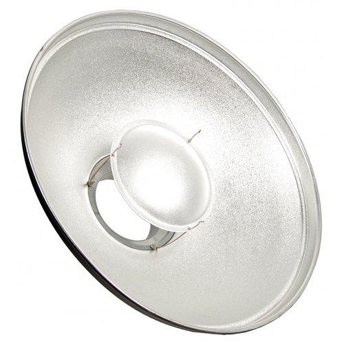 Beauty dish Quantuum 42cm stříbrný