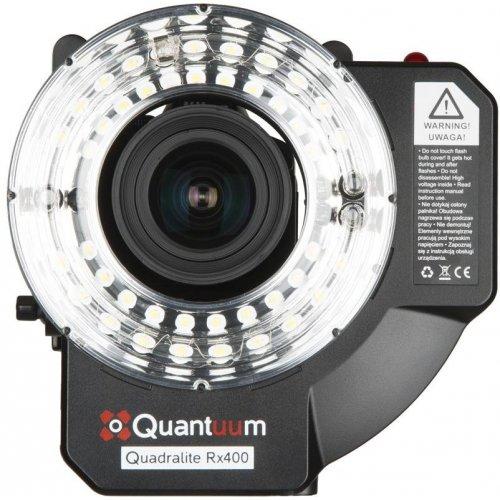 Quadralite Rx400 Ringflash kruhový blesk