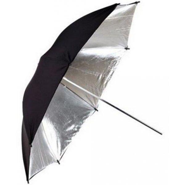 ateliérový deštník stříbrný 83cm