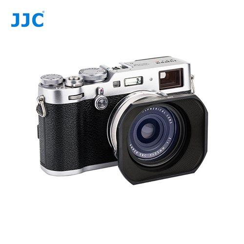 JJC sluneční clona Fuji JX100FII černá + krytka