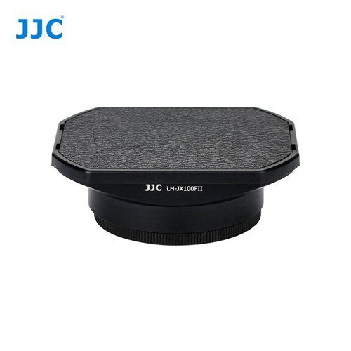 JJC sluneční clona Fujifilm JX100FII černá + krytka