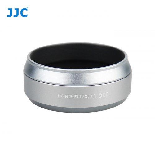 JJC sluneční clona Fuji LH-JX70 - silver